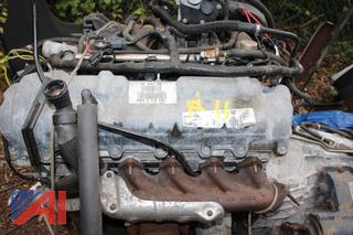 2008 Ford F450 Engine