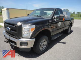 2012 Ford F250 XL Super Duty Pickup Truck & Plow