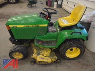 John Deere 425 Mower