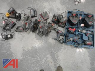 Porter Cable & Bosch Rechargeable Power Tools