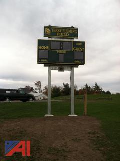 Score Board and Stand