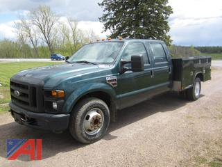 2009 Ford F350 Super Duty Pickup with Utility Body