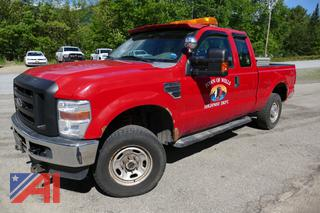 2010 Ford F250 Super Duty Extended Cab Pickup Truck