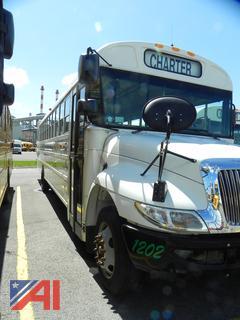 (#1202) 2013 International 3000 School Bus with Wheelchair Lift