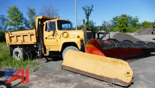 1992 Ford L9000 Dump Truck with Plow and Wing
