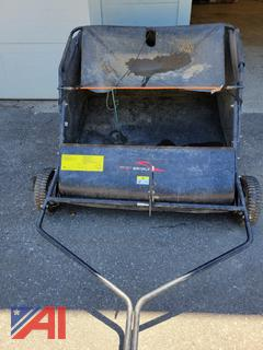 Brinly Pull Behind Lawn Sweeper