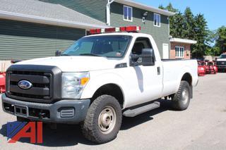 2011 Ford F250 XL Super Duty Pickup Truck