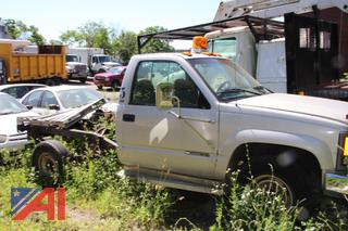 1996 Chevy C/K 3500 Cab and Chassis (Parts Only)