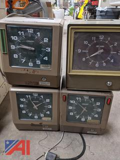 Hand Punch Schlage Time Clocks and More