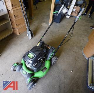 "Lawn Boy 21"" Lawnmower &  Razorback Post Hole Digger"