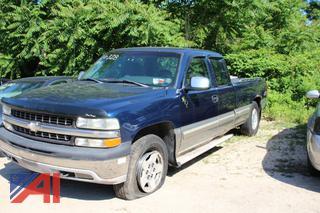 1999 Chevy Silverado 1500 Pickup Truck