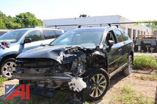 2018 Subaru Outback Crossover