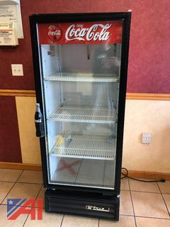 True Upright Beverage Cooler