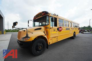 2011 International CE Full Size School Bus/389