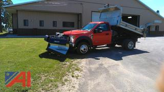 REDUCED BP 2019 Ford F550 Dump Truck with Plow