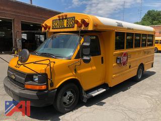 (#333) 2008 Chevy Express 3500 Mini School Bus