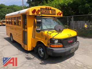 (#334) 2008 GMC/Thomas Savana G3500 Mini School Bus