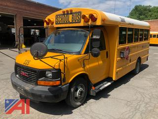 (#335) 2008 GMC/Thomas Savana G3500 Mini School Bus