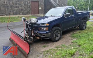 2010 Chevy Colorado Pickup Truck & Plow