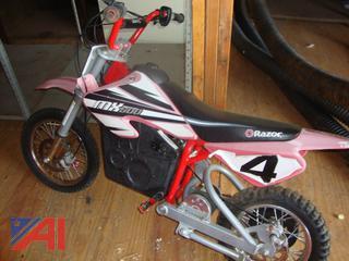 (#1771) Razor Electric Kids Dirt Bike