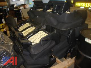 (#1785) Pallets of 2020 Dodge Durango's Rear Seats and Console Parts