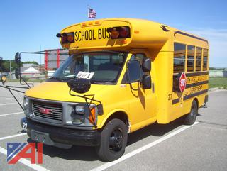 2002 GMC Savana G3500 Mini School Bus