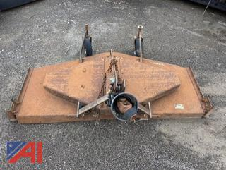 1988 Ford Finish 5' Mower, Parts Only