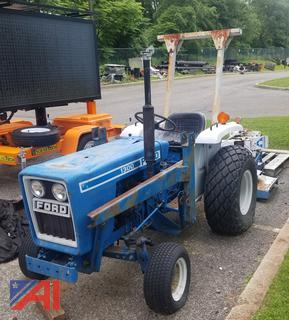 """1979 Ford 1300 Tractor with 72"""" Brush Cutter"""