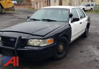 (#3) 2010 Ford Crown Victoria 4 Door/Police Interceptor