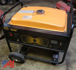 (#7) DEK 5650 Watt Generator