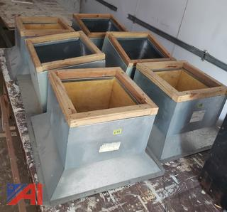 (#9) Roof Vents, New/Old Stock
