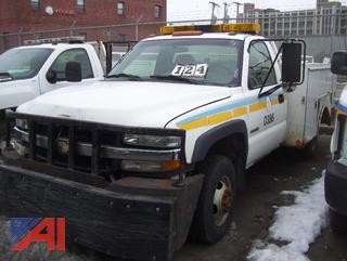 2002 Chevy 3500 Utility N0386
