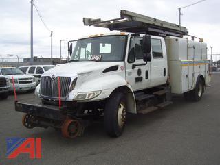 2008 International 4300 Utility Platform N1477