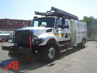 2013 International Workstar Utility Bucket Truck N1809