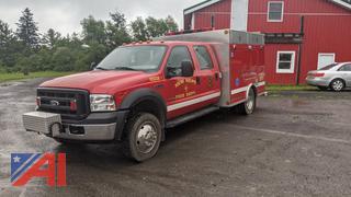2007 Ford F550 XL Super Duty Crew Cab Rescue/Utility Truck