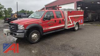 2006 Ford F550 XL Super Duty Crew Cab Rescue/Utility Truck