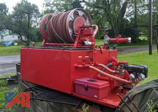 Edwards Skid Mounted Portable Fire Tank