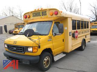 2006 Ford/Blue Bird E450 Mini School Bus