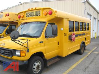 2005 Ford/Blue Bird E450 Mini School Bus