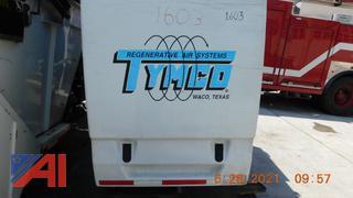 (#1603) 2014 Tymco Model 435 Sweeper Body