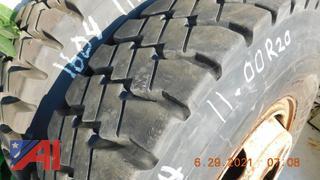 (#1604) 11:00R20 Tires