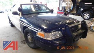 (#5764) 2011 Ford Crown Vic 4 Door/Police Interceptor