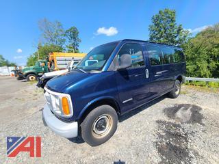 2002 Chevy Express 2500 Van