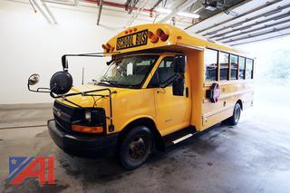 2012 Chevy Express 4500 Thomas Built Minotour School Bus/138