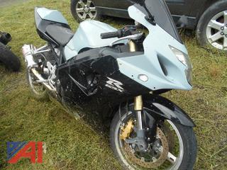 2005 Suzuki GSX-R 600 Motorcycle