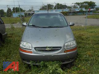 2006 Chevy Aveo LS 4DSD
