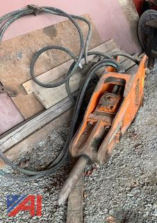 Stanley MB-550 Hydraulic Breaker/Pounder