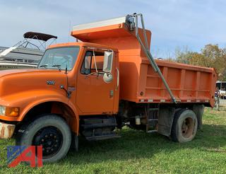 2000 International 4700 Dump Truck