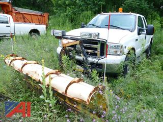 2006 Ford F250 Super Duty Extended Cab Pickup Truck with Plow