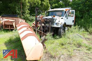2004 International 7600 Dump Truck with Plow and Wing
